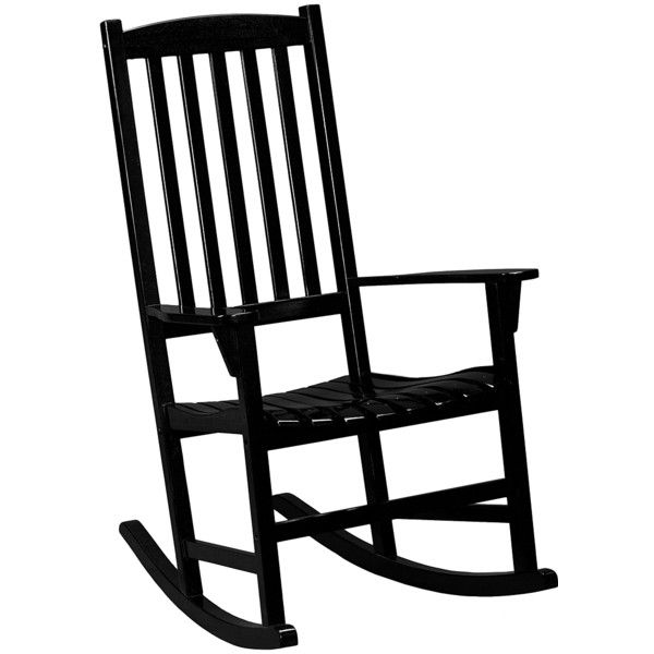 Southern Enterprises Porch Rocking Chair 125 Liked On