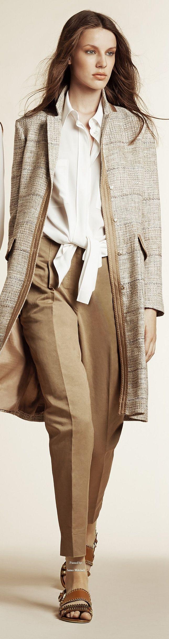 Alberta Ferretti Pre Spring 2016 collection women fashion outfit clothing stylish apparel @roressclothes closet ideas
