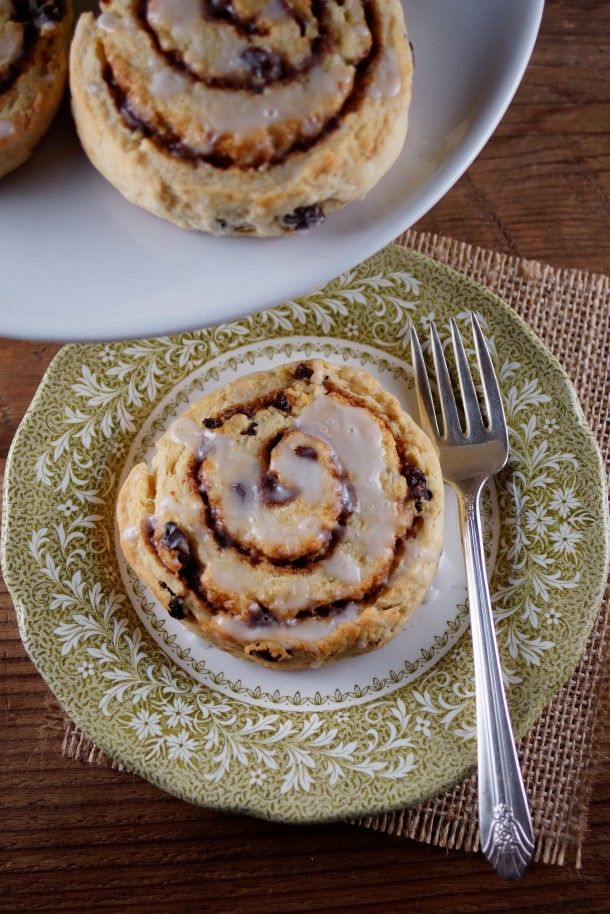 Cinnamon Roll Scones - I made these using America's Test Kitchen sour cream scone recipe (I added pecans and cream cheese glaze). They are delicious!