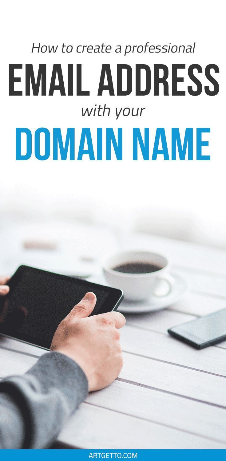 How to Create a #Professional #Email Address with Your #Domain Name | #Business