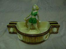 Wembley Ware Old Salt or Sailor Girl ashtray