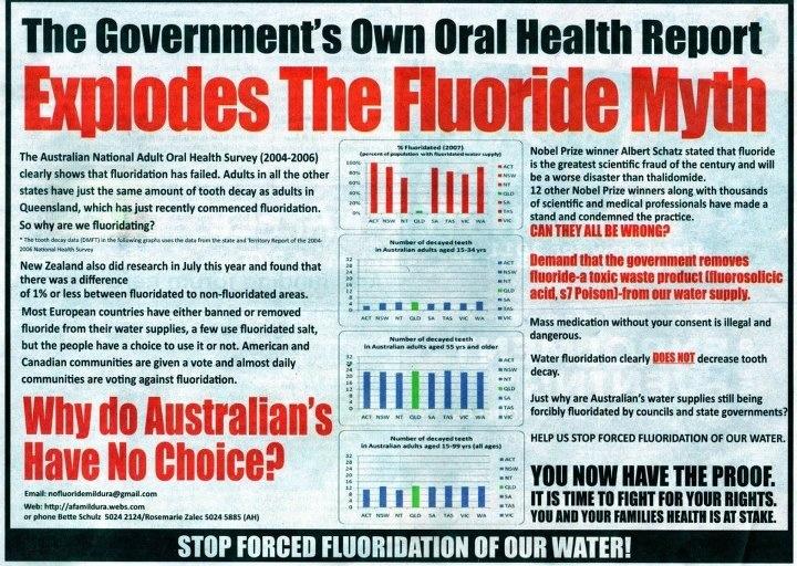 Flouride Myth Oral health, Health articles, Health