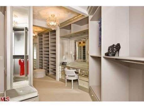 Kimora Lee Simmons Beverly Hills Home-Closet