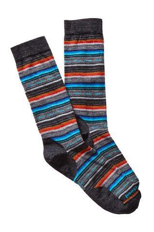 Bold Stripe Margarita Crew Socks