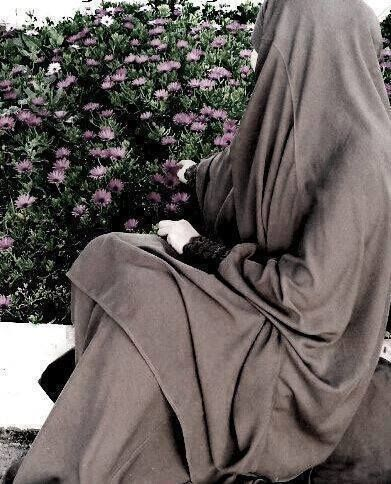 Wearing Jilbab in the Garden