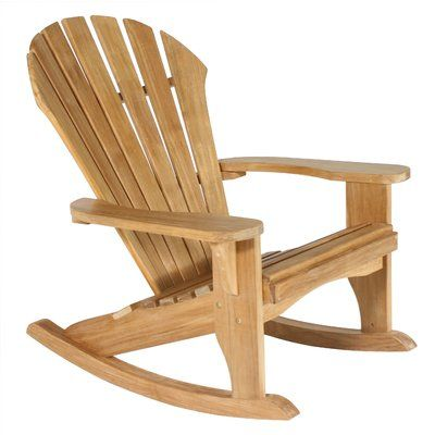 Exceptional Great Adirondack Style Traditional Rocking Chair That Is Deeply Contoured  For Comfort And Relaxation. Amazing Ideas