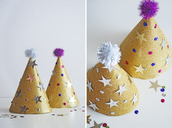 New Years Eve Kids Crafts Diy Party Hats New Years Eve Pinterest New Years Eve New Years Eve Party And Party