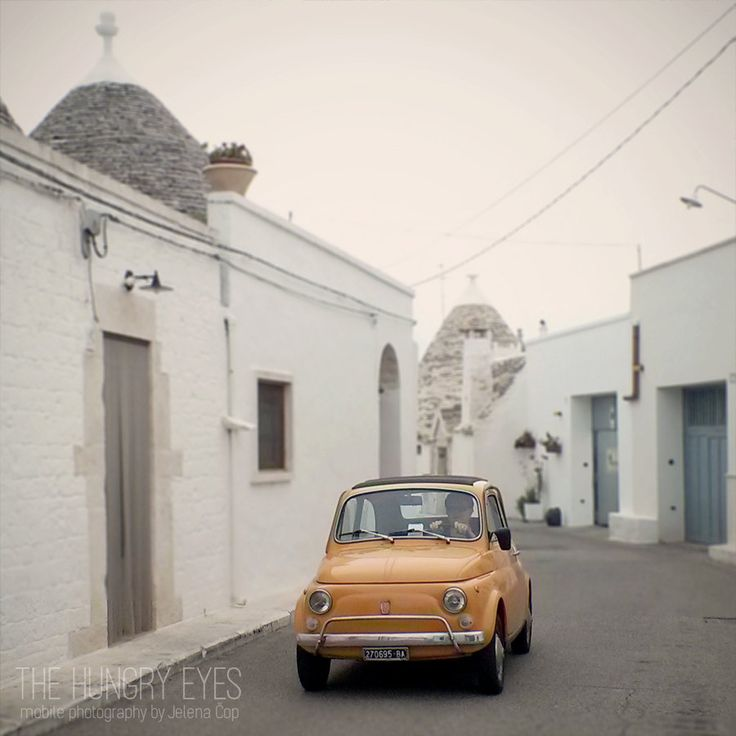 Fiat 500 Print, Trulli Alberobello Photography, Cinquecento Print, Italian Car Print, Vintage Car, Perfect Gift, Trullo Fine Art Photography by TheHungryEyes on Etsy