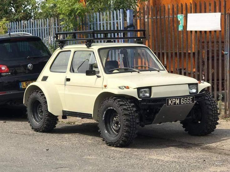 Beast on Wheels. Fiat, it's so wrong it's brilliant