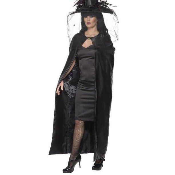 Luxury Cape Adult Unisex Smiffys Fancy Dress Costume