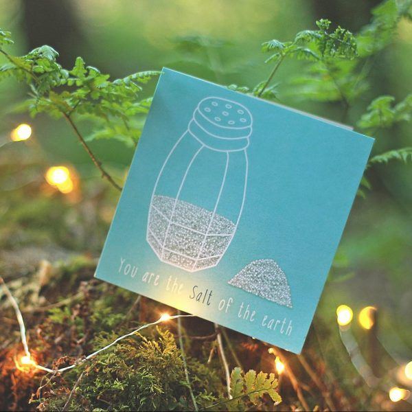 YOU ARE SALT Inspired by: Matthew 5:14   Designed to encourage someone who is struggling with… - Self esteem - Identity in Christ - Seeing their value & worth  Available to buy at: www.mannacards.co.uk Manna Cards: Christian Cards of Encouragement for Periods of Wilderness