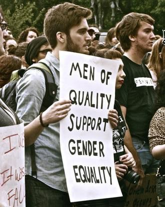 Men of quality support gender equality