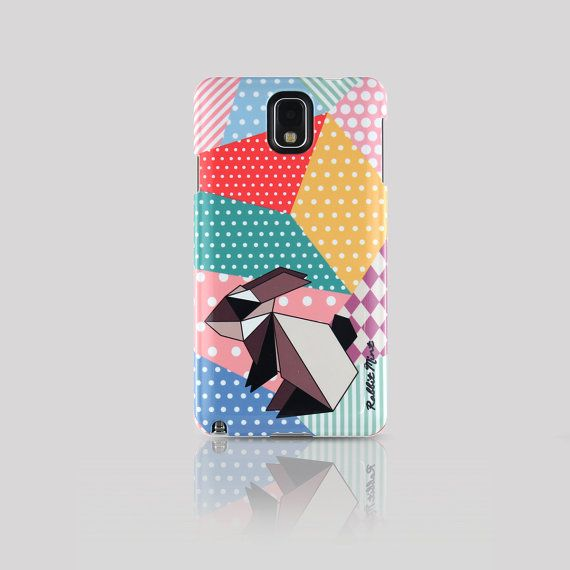 Samsung Galaxy Note 3 Case  Origami Rabbit 00057N3 by rabbitmint, $20.00