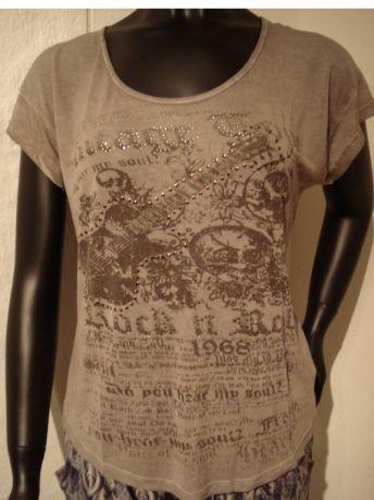 Copenhagen Luxe T-shirt Greyrose - T-shirts - MaMilla