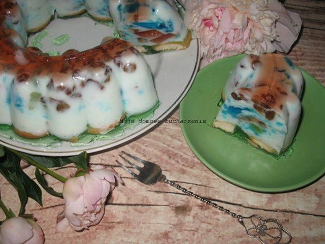 Moje domowe kucharzenie: Ciasto jogurtowe bez pieczenia