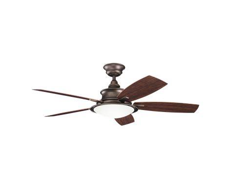 Fan decorative fans cameron ceiling fan in weathered copper brown powder coat