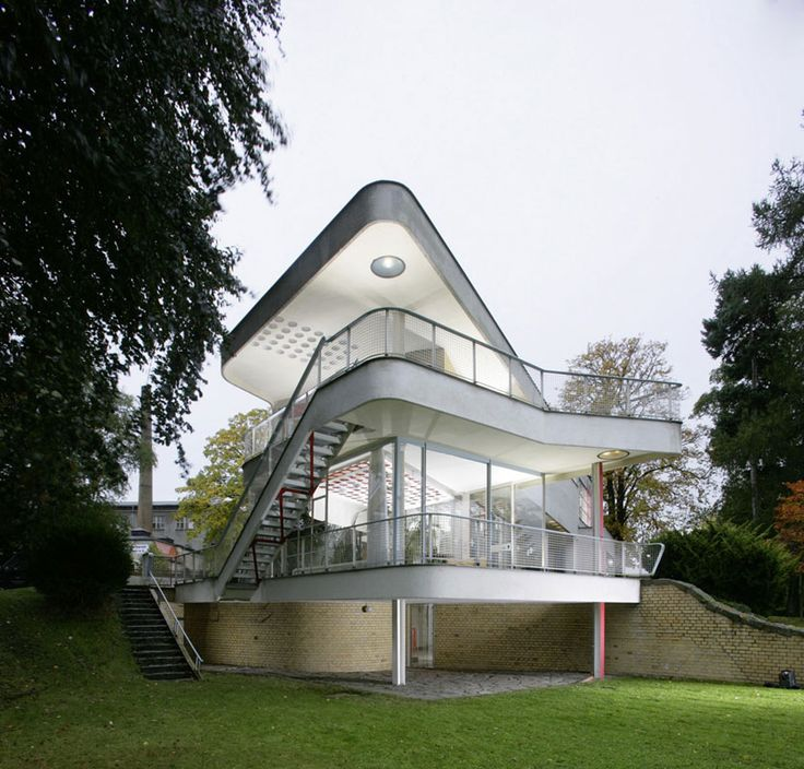 Haus Schminke by Hans Scharoun in Löbau, Saxony, Germany, 1933 #architektur #wohndesign