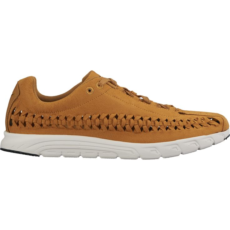 Originally released in 2003, The Nike Mayfly was an extremely purist concept designed as a race day shoe - a featherweight technical runner. This premium interpretation features luxe suede uppers with woven detailing. #nike #newarrivals #nikemayfly #footwear #menswear