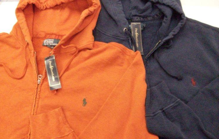 Polo Ralph Lauren Pink French-Rib Full-Zip Hoodie