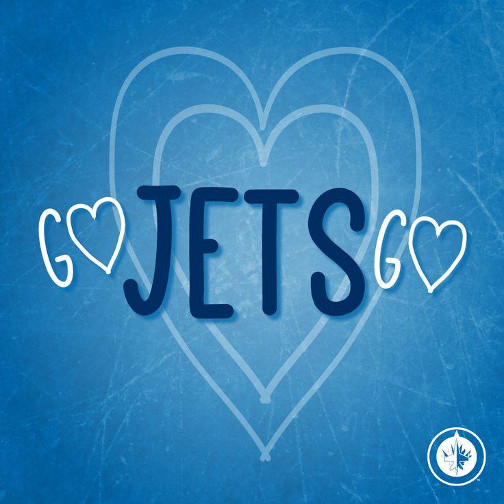 Go Jets Go - Winnipeg Jets Valentine