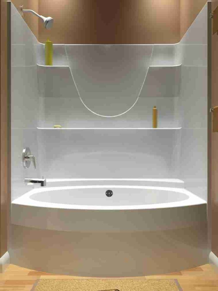 Best 25 One Piece Shower Stall Ideas On Pinterest One