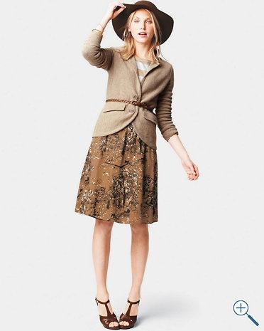 Favorite Voile Skirt - Garnet Hill