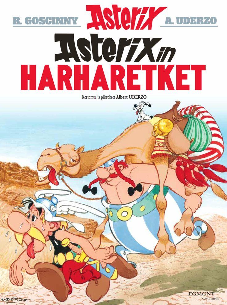 Kirjakaupoissa ja lehtipisteissä 1.6.2016! #Asterix #sarjis #matkailu #kesälukeminen