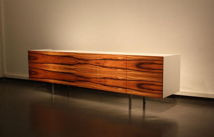 SIDEBOARD PALISANDER HANDGEFERTIGT/ WEISS von Sideboard-Design auf DaWanda.com