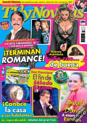 TV y Novelas México - 28 Septiembre 2015