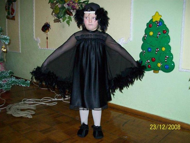 Новогодние костюмы для мальчиков чёрный ворон