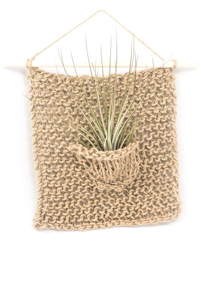 Single Air Plant Hanger Weaving