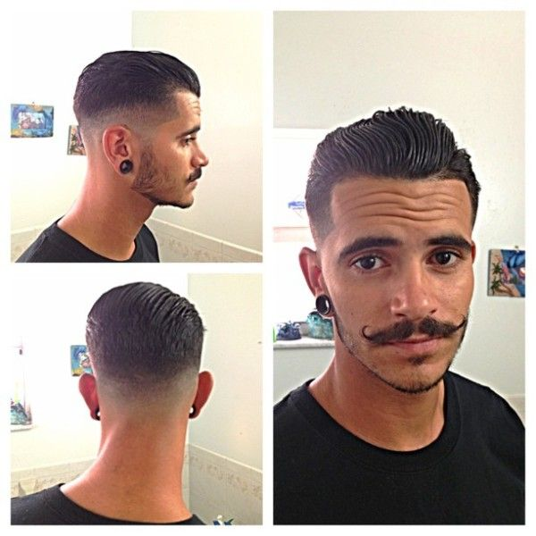 Hair AND a handlebar mustache= YES!