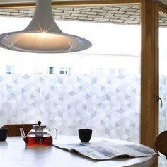 Graphite Deko-Fensterfolie - 85 x 120cm - Siluett Frost