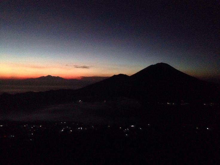 Batur Malam. Bali - Indonesia