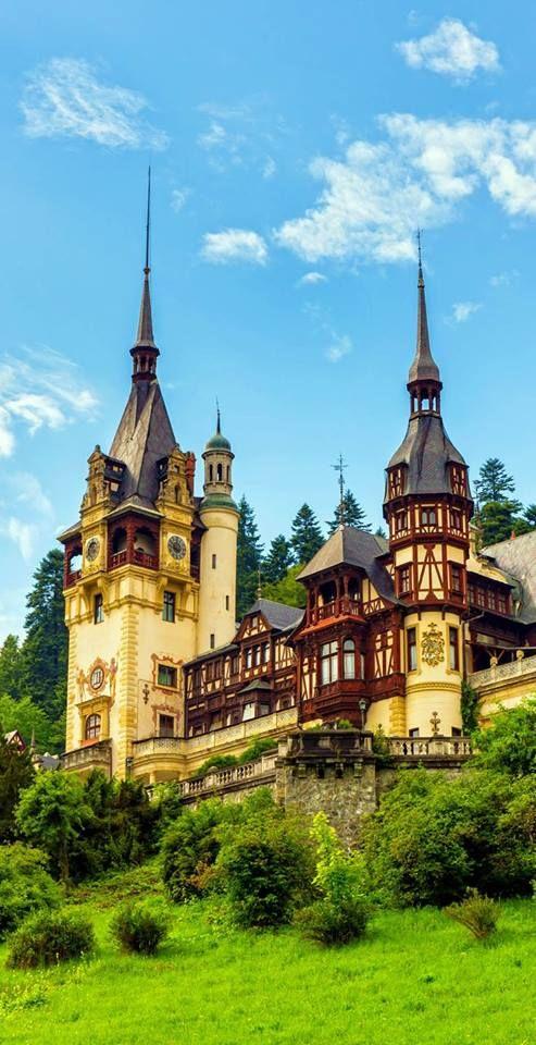 Castillo de Peles, Sinaia, Rumania.