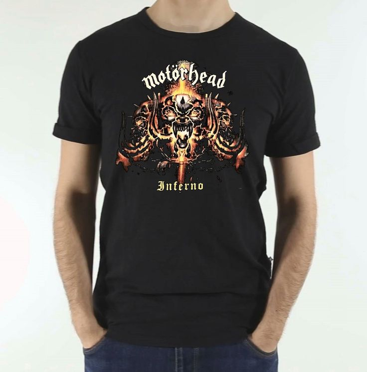 Motorhead Vintage tshirt Inferno Tour Ambassador Theatre Dublin 2004 REPLICA TEE