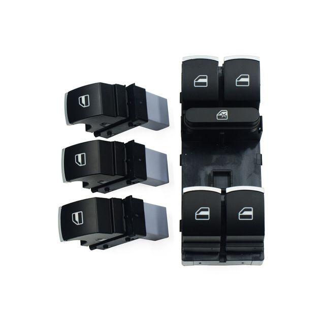 Power Window Control Switch Button Set For Volkswagen Vw Golf Mk5 6 Jetta Passat B6 Tiguan Rabbit Touran 5nd 959 857 5nd 959 855 Vw Golf Volkswagen Golf Brands