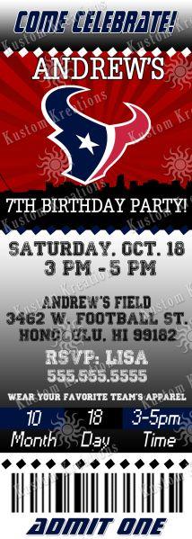 nfl-houston-texans-ticket-birthday-invitation