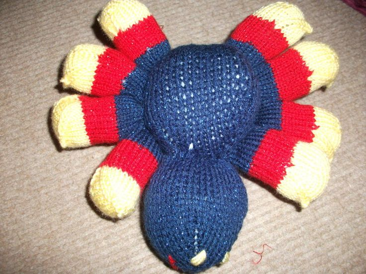 knitted spider - Knitting creation by mystery | Knit.Community