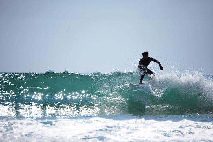 Lisbon, Costa da Caparica, Surf