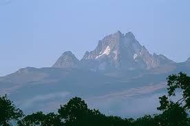 MOUNT KENYA CLIMBING SAFARI: PANORAMIC VIEW ON MOUNT KENYA