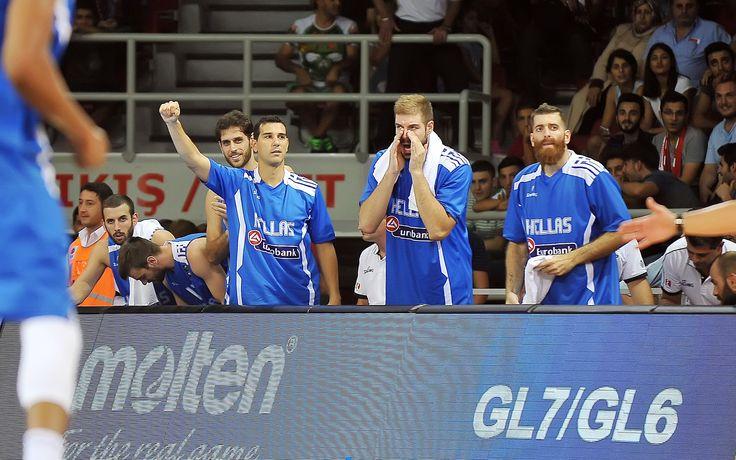 Η Εθνική Ομάδα μπάσκετ στην προετοιμασία για το Eurobasket 2015