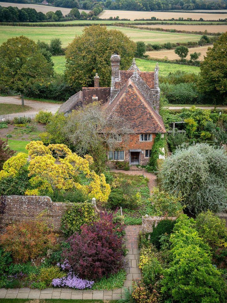"wanderthewood""Sissinghurst Castle Garden, Kent, England"