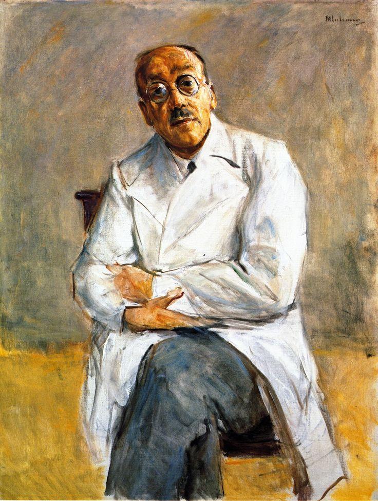 Max Liebermann - Portrait of Ferdinand Sauerbruch