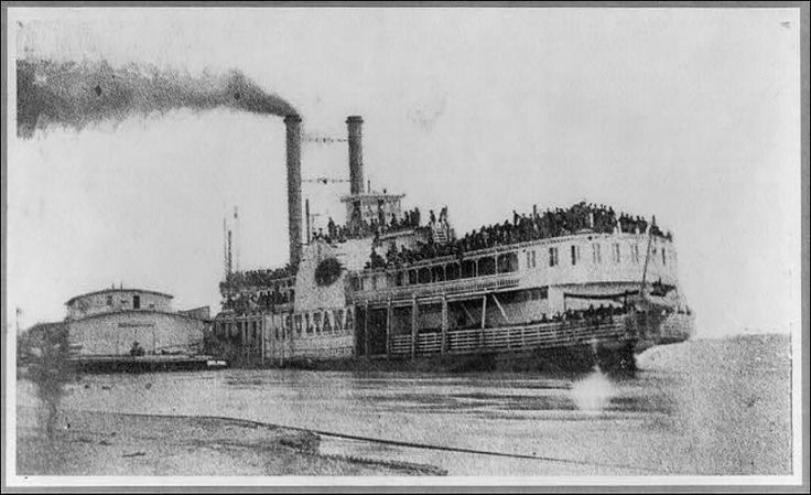 The riverboat Sultana killed an estimated 1,547 people, mostly Civil War veterans returning home from battle, when it exploded and sank on the Mississippi River in 1865. The disaster claimed more lives than the Titanic (1,512) when the steamer's boilers blew just above Memphis, Mississippi.