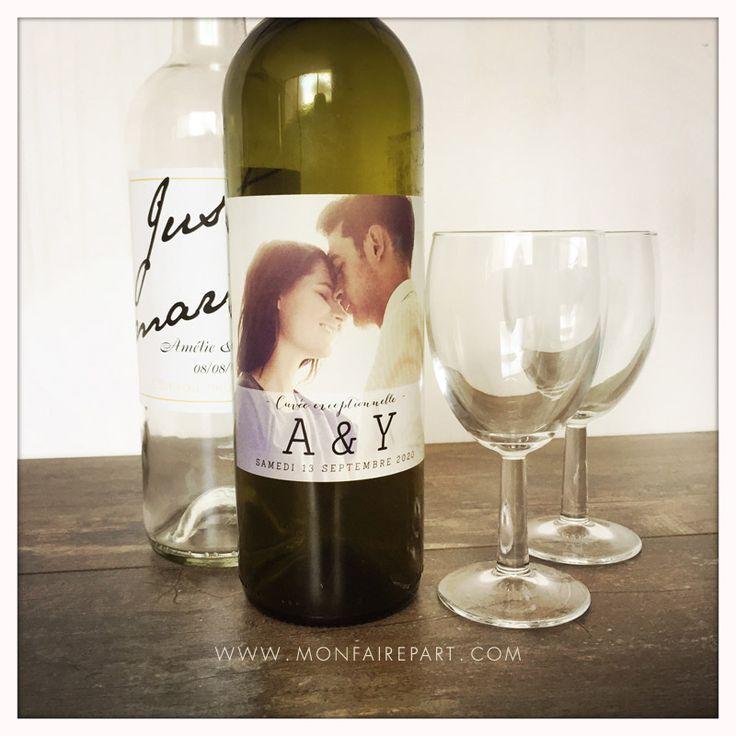 Étiquette bouteille de vin personnalisable pour votre repas de noces.  Ref N300553 (http://www.monfairepart.com/etiquette-de-bouteille-mariage-18375.html) Ref N300526 (http://www.monfairepart.com/etiquette-de-bouteille-mariage-18348.html)