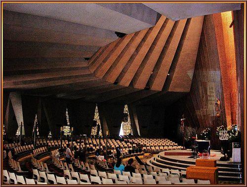 Parroquia de la Divina Providencia, 1968 Obra de los arquitectos Honorato Carrasco y Amaury Pérez de la Horta,