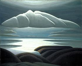 "Lawren Harris - ""Clouds, Lake Superior"""