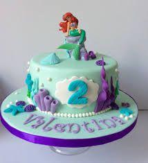 Resultado de imagen para tortas de la sirenita