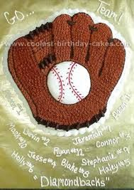 Image result for baseball glove cupcakes